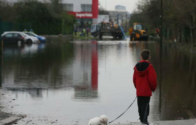 Наводнения в Ирландии 11 декабря 2015