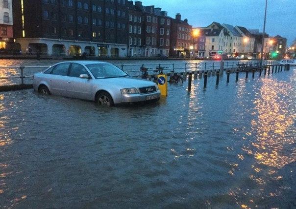 Наводнение в Ирландии 11 апреля 2016