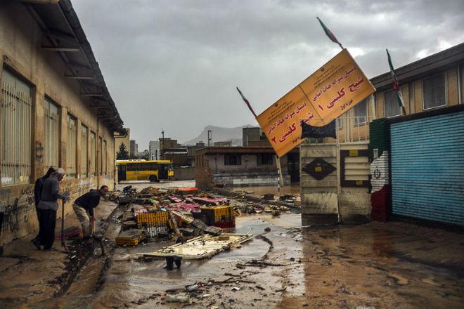 Наводнение в Иране 29 октября 2015
