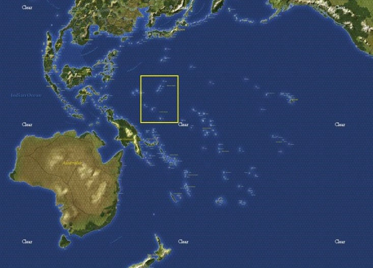 Землетрясение на Каролинских островах 25 января 2016