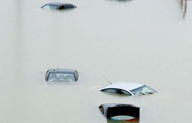 Наводнение в Саудовской Аравии 25 ноября 2015