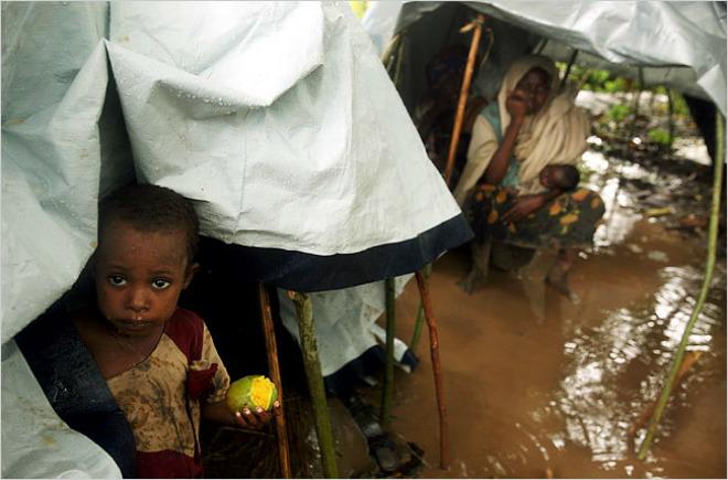 Наводнение в Сомали 7 апреля 2016