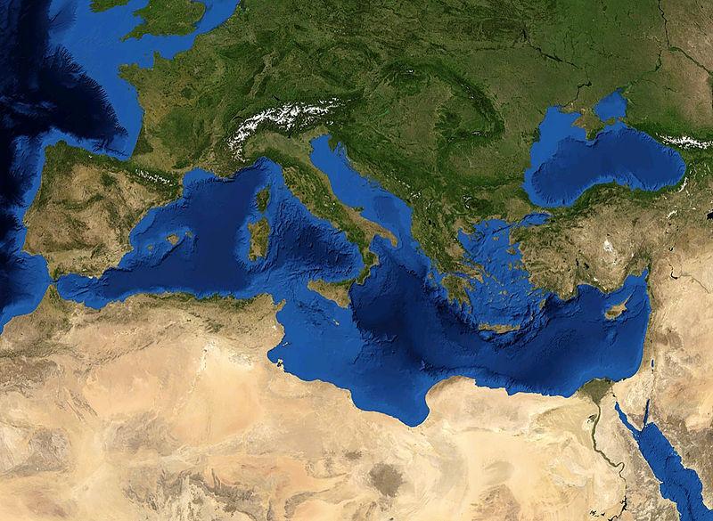 Землетрясение в Средиземном море 01 ноября 2015