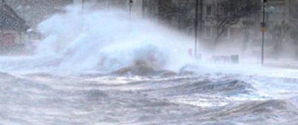 Шторм в Шотландии 30 декабря 2015