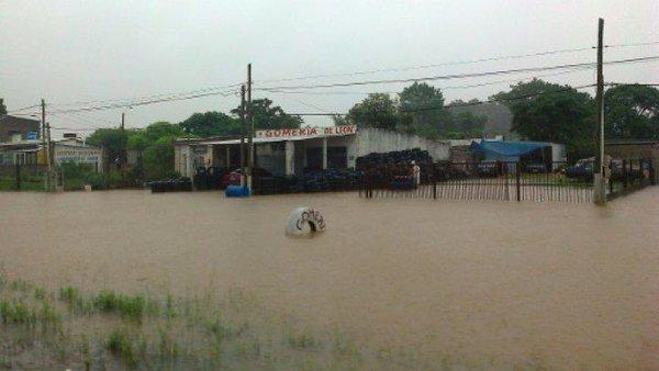 Наводнение в Уругвае 23 декабря 2015
