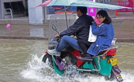 Наводнение в Китае 13 ноября 2015