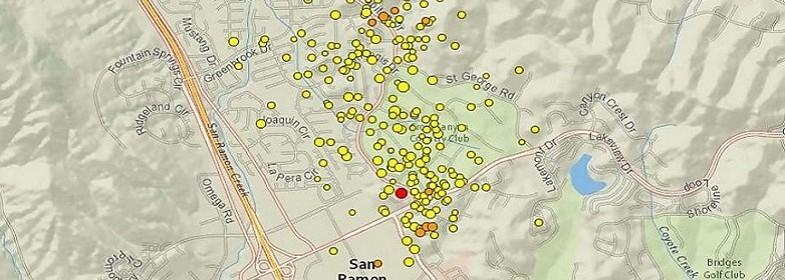 Землетрясения в Сан-Франциско 28 октября 2015