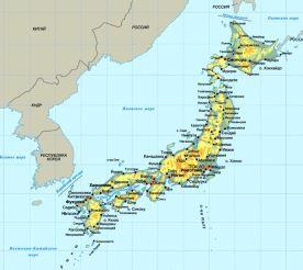 На Японию надвигается тропический шторм 16 июля 2015