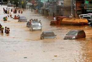 Наводнения в Анголе 07 марта 2016