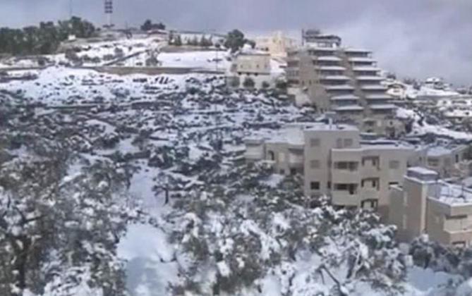 Снег в Мексике 27 января 2016