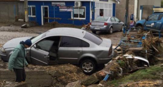 Наводнение в Румынии 12 октября 2015
