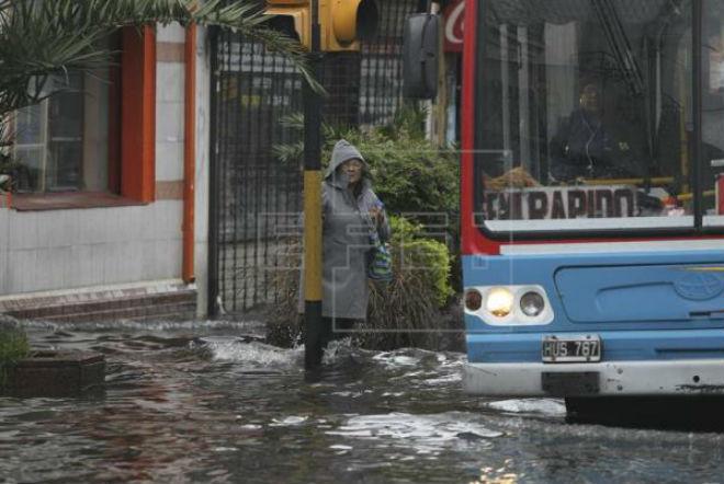 Наводнение в Аргентине 5 апреля 2016