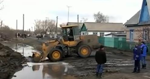 Наводнения в Казахстане 07 апреля 2016