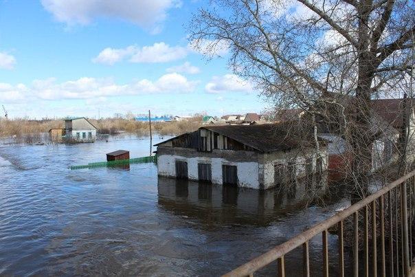 Наводнение в России 12 апреля 2016