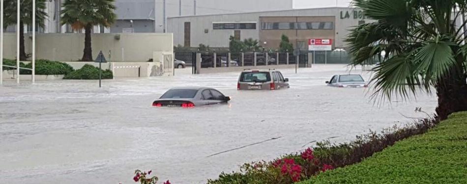 Наводнение в Объединённых Арабских Эмиратах 09 марта 2016