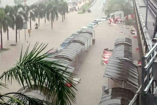 Наводнение в Малайзии 30 ноября 2015