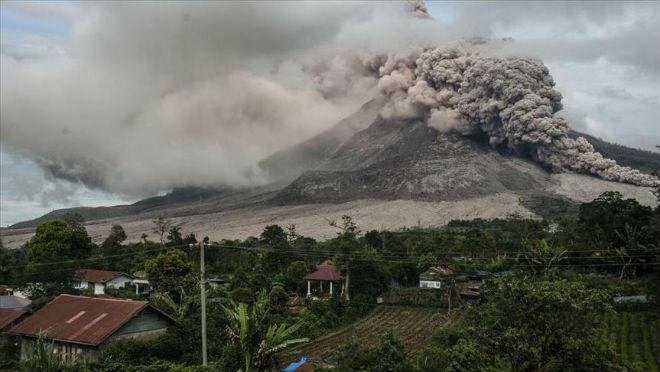 Извержение вулкана на Филиппинах 29 марта 2016