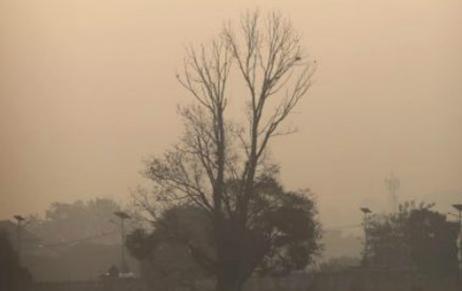 Загрязнение воздуха в Непале 17 декабря 2015
