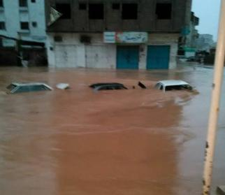 Наводнение в Йемене 03 ноября 2015