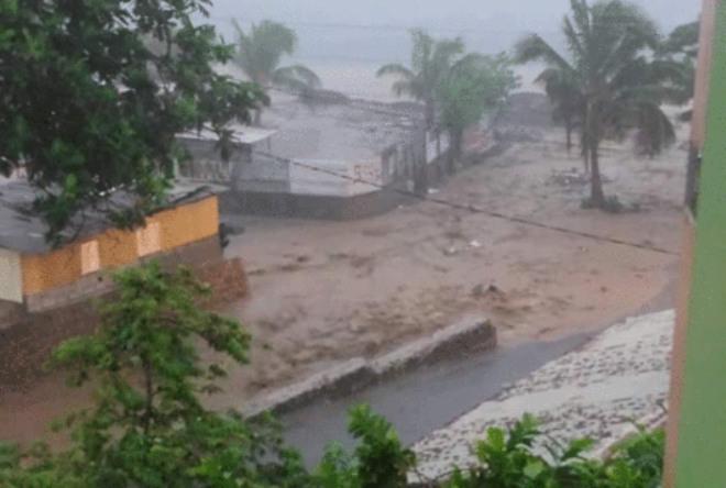 Наводнение в Доминике 15 сентября 2015