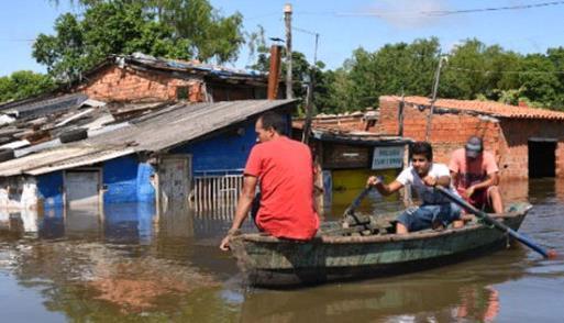 Наводнение в Бразилии 28 декабря 2015