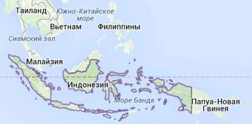 Землетрясения в Индонезии 01 декабря 2015