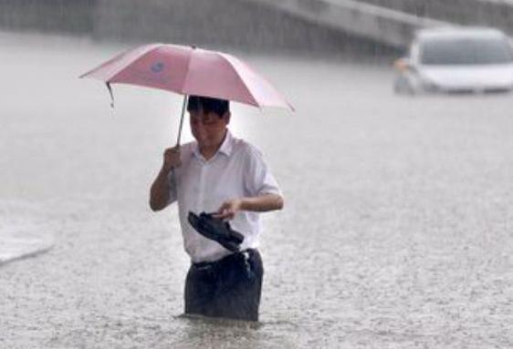 Наводнение в Китае 05 сентября 2015