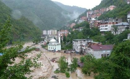 Наводнения в Турции 25 августа 2015