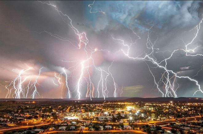 Шторм в Австралии 27 октября 2015