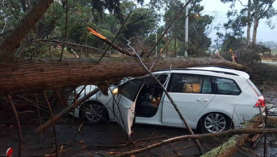 Буря в Австралии 18 марта 2016