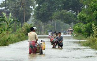 Наводнение в Индии 03 августа 2015