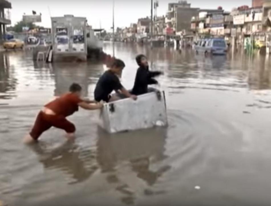 Наводнение в Ираке 29 октября 2015