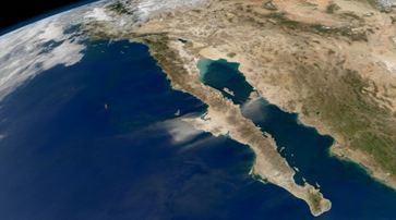 Серия землетрясений в Калифорнийском заливе 07 августа 2015