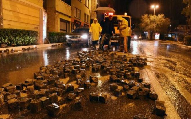 Наводнение в Хорватии 14 октября 2015