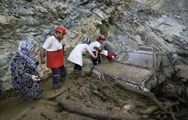 Наводнение в Иране 18 сентября 2015