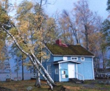 Шторм в Финляндии 02 октября 2015