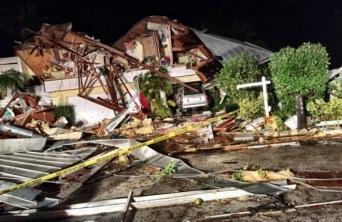 Торнадо в США 17 января 2016