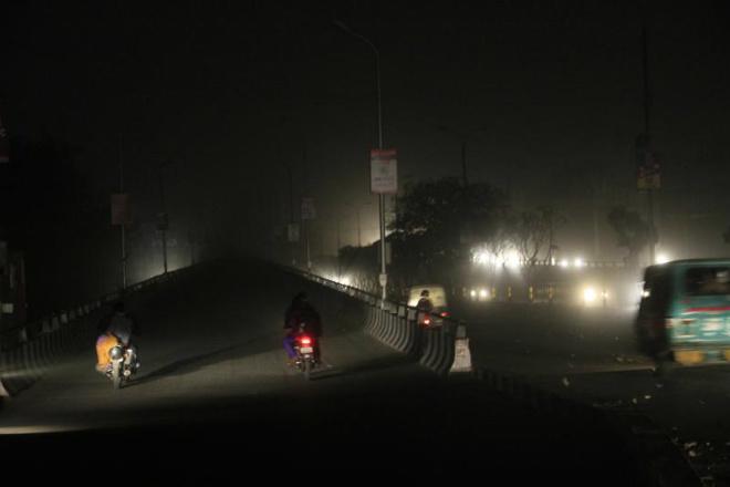 «Черный шторм» в Индии 01 декабря 2015
