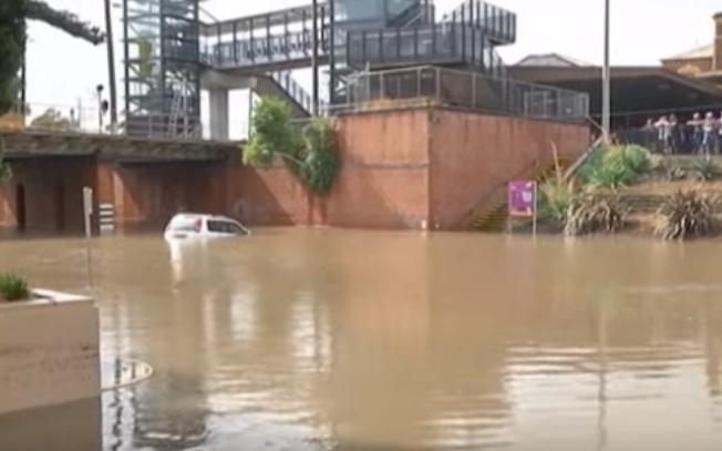Наводнение в Австралии 27 января 2016
