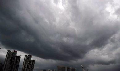 Тайфун «Куджира» в Китае 22 июня 2015