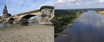 Засуха в Германии 13 августа 2015