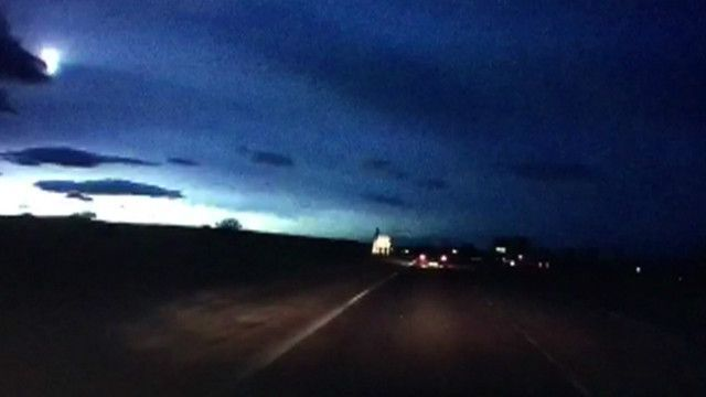 Метеорит над Шотландией 01 марта 2016