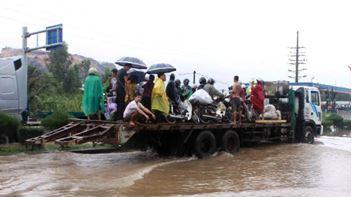 Наводнение во Вьетнаме 28 июля 2015