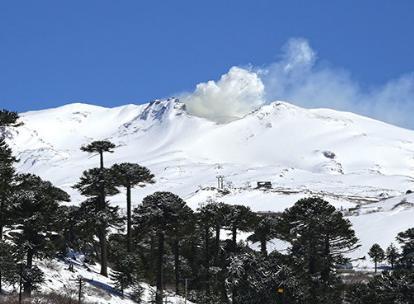 Извержение вулкана в Чили 20 ноября 2015