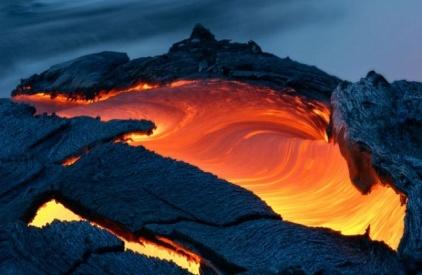 Извержение вулкана на Гавайях 27 августа 2015