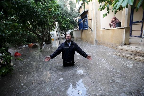 Наводнение в Израиле 09 ноября 2015