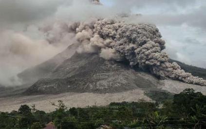 Извержение вулкана на Филиппинах 23 ноября 2015