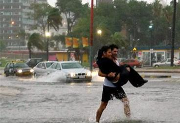 Наводнение в Аргентине и Уругвае 16 августа 2015