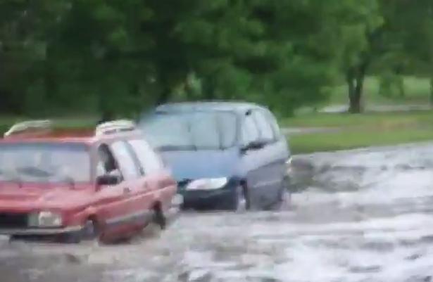 Наводнение в Белоруссии 08 марта 2016