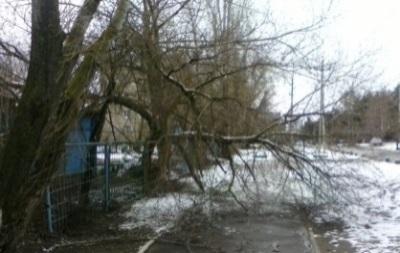 Шторм в Украине 18 января 2016